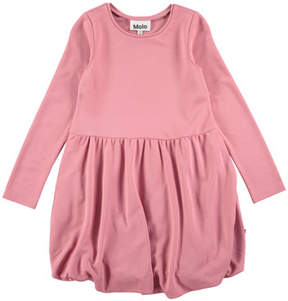 Molo Clementine Long-Sleeve Bubble Dress, Size 3T-12