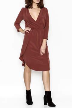 Everly Midi Wrap Dress