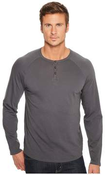 Alternative Organic Cotton Quad Henley Men's Clothing