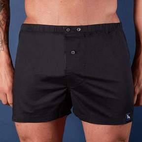 Blade + Blue Solid Black Boxer Short - Pete