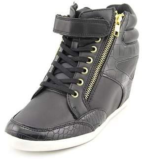 Thalia Sodi Azar Women Round Toe Synthetic Black Sneakers.