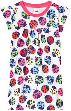 Hatley White Rainbow Ladybirds Nightdress