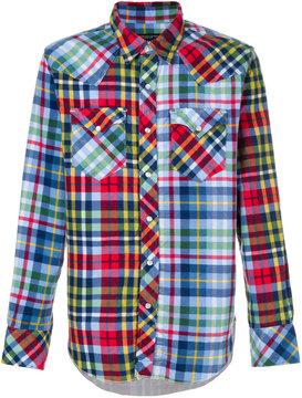 Engineered Garments checked shirt