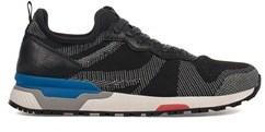 Crime London Men's Black Polyamide Sneakers.