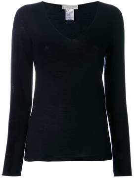 Le Tricot Perugia long sleeved V-neck sweater