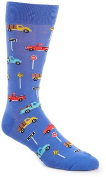 Hot Sox Pick Up Truck Crew Socks