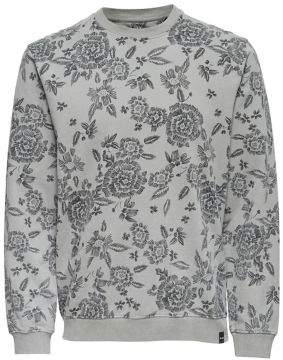 ONLY & SONS Printed Cotton Sweatshirt
