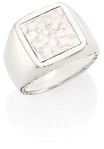 John Hardy Classic Chain Collection Sterling Silver Ring