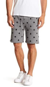 Alternative Star Printed Fleece Shorts
