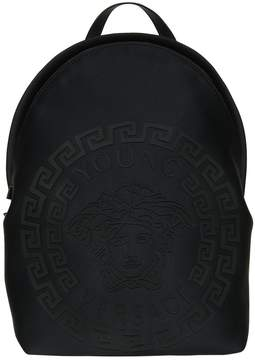 Versace Rubberized Print Neoprene Backpack
