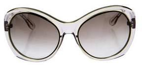 Bottega Veneta Oversize Gradient Sunglasses