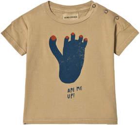 Bobo Choses Lark Footprint Short Sleeve T-Shirt