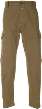Closed cargo trousers