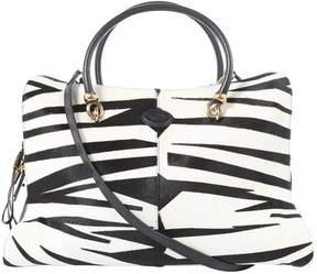 Tod's Black Pony-style calfskin Handbag