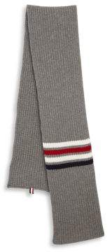 Thom Browne Stripe Wool Scarf