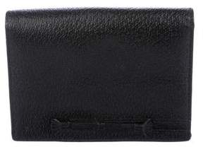 Anya Hindmarch Pebbled Leather Wallet
