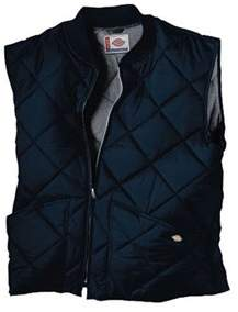 Dickies Men's Diamond Quilted Nylon Vest.