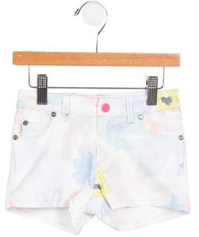 Paul Smith Girls' Lisandra Watercolor Shorts w/ Tags