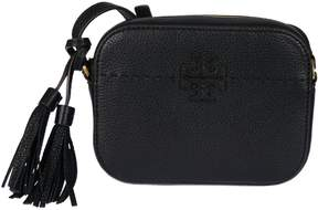 Tory Burch Logo Shoulder Bag - BLACK - STYLE