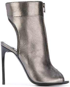 Tom Ford zipped bootie sandals