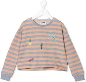 Molo striped sweatshirt