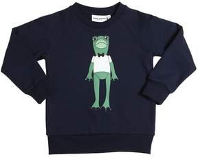 Mini Rodini Frog Printed Organic Cotton Sweatshirt