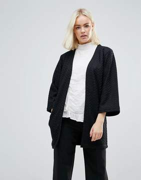 B.young Textured Longline Jacket