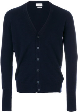 Ballantyne button-down cashmere cardigan