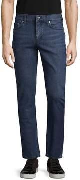 BLK DNM Men's 5 Faded & Whiskered Jeans