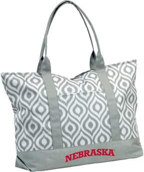 NCAA Logo Brand Nebraska Cornhuskers Ikat Tote