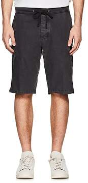 James Perse MEN'S WASHED COTTON POPLIN SURPLUS SHORTS