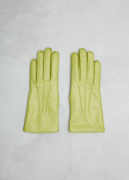 Dries Van Noten Green Gloves