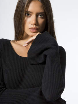 Carbon38 The Bell Sleeve Sweater