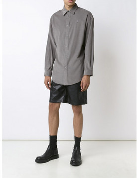 Alexander Wang dollar sign embroidered shirt
