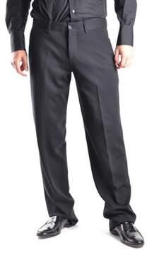 Dirk Bikkembergs Men's Black Wool Pants.