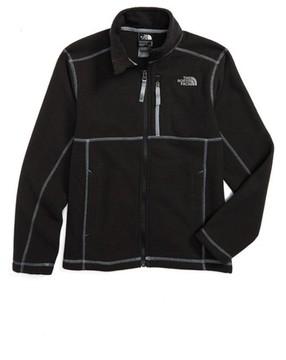 The North Face Boy's Cap Rock Fleece Jacket