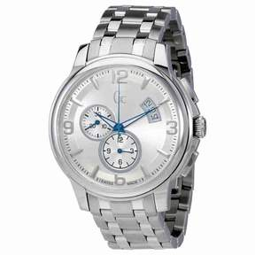 GUESS Classica Chronograph Silver Dial Men's Watch X83001G1S