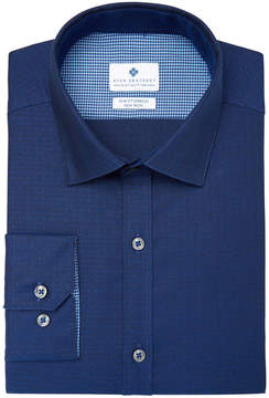 Ryan Seacrest Distinction Men's Slim-Fit Stretch Non-Iron Performance Pin Dot Dress Shirt, Created for Macy's