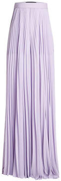Elie Saab Pleated Wide Leg Pants