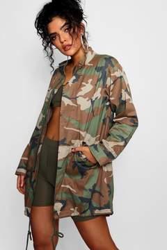 boohoo Camo Jacket