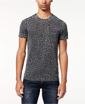 GUESS Men's Leopard-Print T-Shirt
