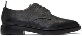 Thom Browne Black Leather Derbys