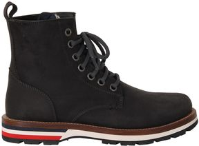 Moncler Blue New Vancouver Ankle Boots