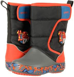 Crocs Lodge Point Lights Robo Rex Boys Shoes