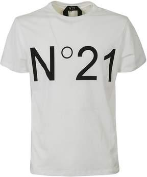 N°21 N.21 Printed Logo T-shirt