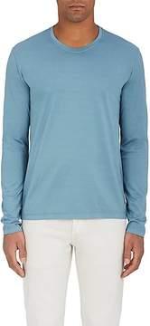 Loro Piana Men's Cotton Jersey Long Sleeve T-Shirt