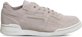 Reebok Workout plus suede trainers