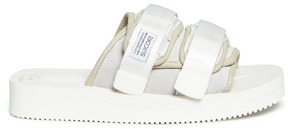 Suicoke 'MOTO-VS' cow suede slide sandals