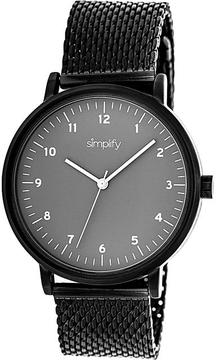 Simplify The 3200 Collection SIM3206 Unisex Watch with Mesh Bracelet-Style Band