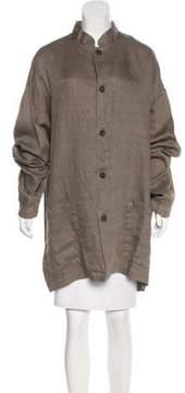 eskandar Oversize Linen Jacket w/ Tags